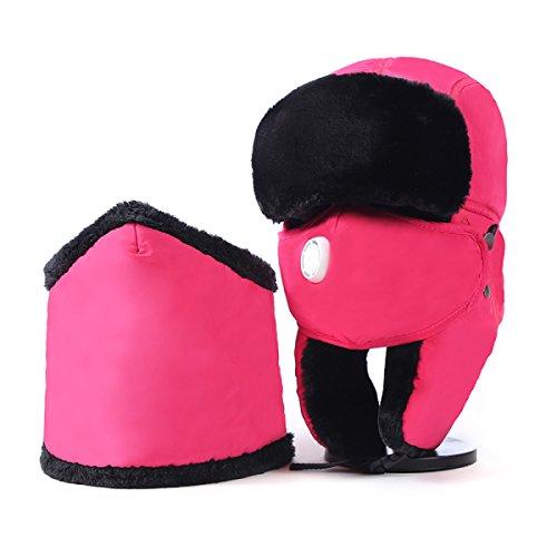 Solapa Invierno Para Viento Sombrero De Darkgray Invierno Senderismo Patinaje El Bombero De Ushanka Cálido Para Hombre Prueba De Oído Máscara Para Esquí A Unisex qwqtrTIHv