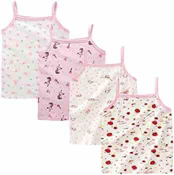 Bossail Kids Camis Soft Cotton Toddler Undershirt Little Girls Camisole Tank Top