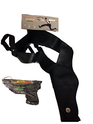 NDC Shoulder Holster Gangster Costume Accessory with Squirt