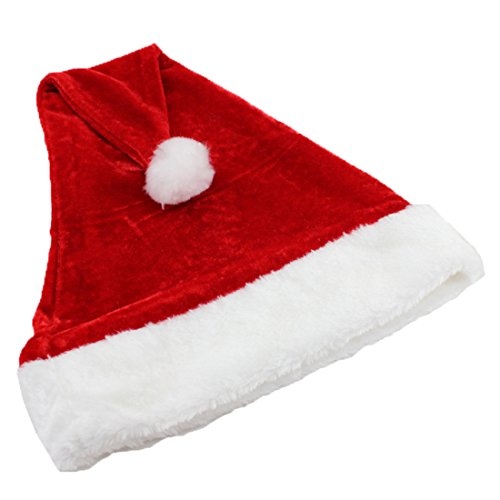 PhoebeTan Christmas Decorations Santa Claus Hat (5) (Cheap Santa Hats)