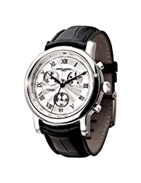 Jorg Gray JG7200-11 - Men's Swiss Chronograph Watch, Date Display, Sapphire Crystal, Leather Straps