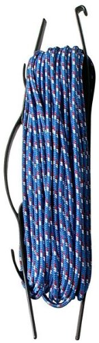 Lehigh Secure Line MFP4100 Diamond Braid Poly Rope, 1/4-Inch by 100-Foot (colors may vary)