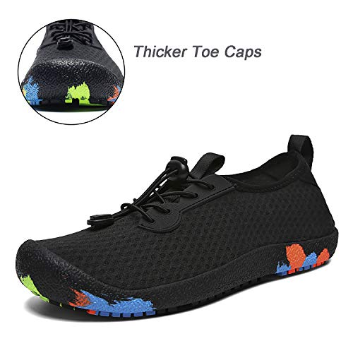 Pictures of Uminder Mens Water Shoes Breathable Lightweight Beach 6