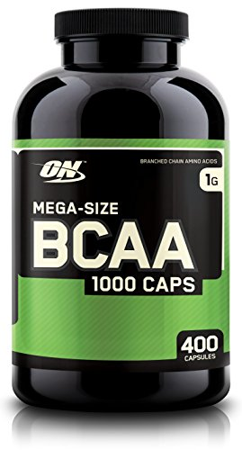 Optimum Nutrition BCAA Capsules, 1000mg, 400 Count