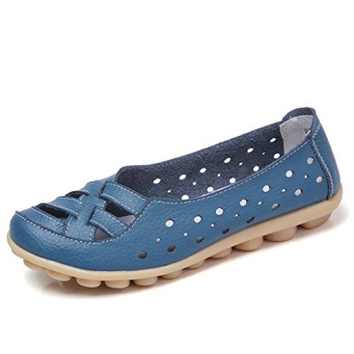 On Il Plus Size Tempo Slip Blue Donna Libero Scarpe Lazy Lavoro Mocassini Da Per Shoes Transer Soft Casual nvzqxIdq