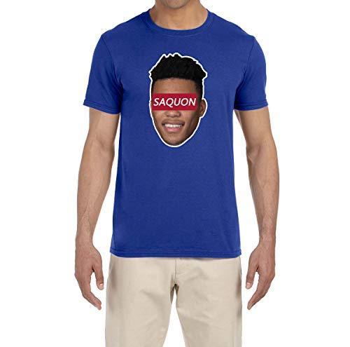 - Tobin Clothing Blue New York Saquon Face T-Shirt Adult XL