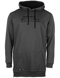 Mens Long Jumper OTH Hoodie Sweater Pullover Hoody Hooded Top Sleeve