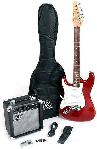 SX RST 3/4 LH CAR - Guitarra de mano izquierda con amplificador ...