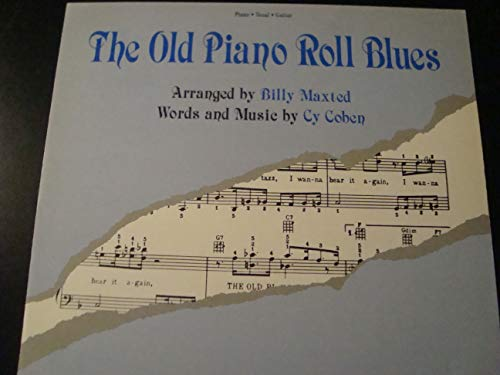 The Old Piano Roll Blues (Voice, Piano, Ukulele, Guitar - Old Piano Roll