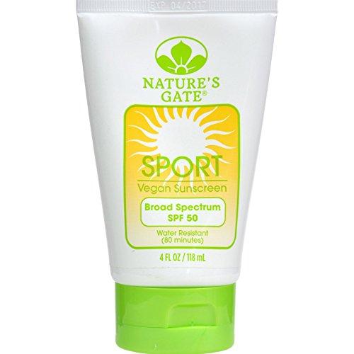 Natures Gate Sun Care (Nature's Gate Sport Broad Spectrum SPF 50 Sunscreen, 4 oz)