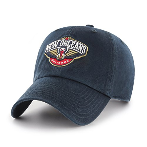 fan products of NBA New Orleans Pelicans Women's OTS Challenger Adjustable Hat, Navy, Women's