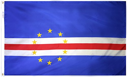 - Annin Flagmakers Model 191433 Cape Verde Flag 3x5 ft. Nylon SolarGuard Nyl-Glo 100% Made in USA to Official United Nations Design Specifications.