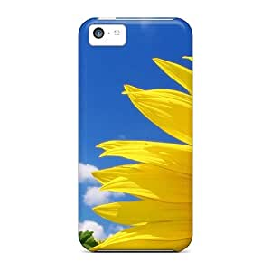 MeC15564vKcq CaroleSignorile Awesome Cases Covers Compatible With Iphone 5c - High Quality Sunflower