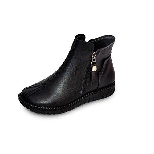 Chaussures Bottes Courtes Bottom Bottom Soft Bottom Chaussettes en coton de grande taille , 36