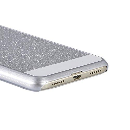 Sunroyal PC Bling Funda para Huawei P8 Lite 2017,Cáscara Teléfono Trasera Funda Protectora Capas Cajas Diseño Dura Cáscara Hard Case Bumper Cover, Cristal Ultra Delgado Cubierta de Protección Anti-Ara B-02