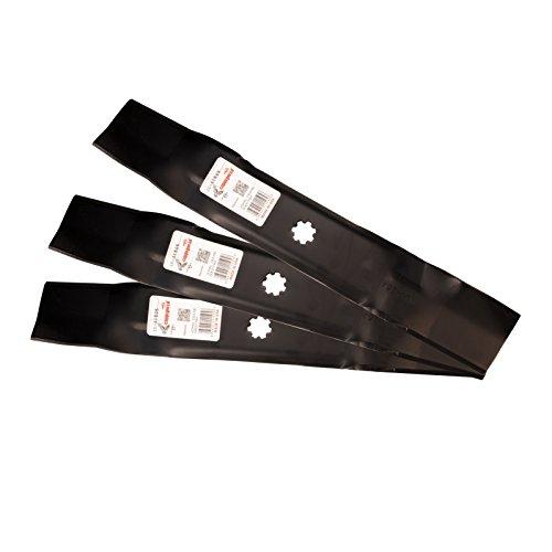 Three (3)Pack Rotary Mower Blades Replace John Deere GX21784 AM137757 AM141035 GY20852