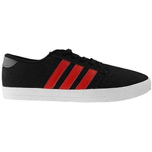 Adidas Vs Skridsko - B74538 Vit-svart-röd