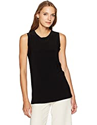 KAMALIKULTURE by Norma Kamali Womens Sleeveless Swing Top