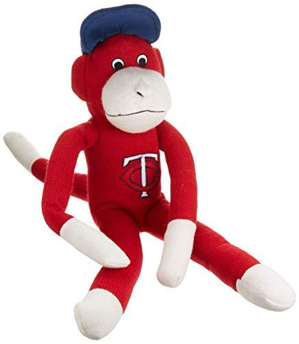 Minnesota Twins Team Sock Monkey Red