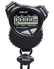 OSLO Robic - Cronómetro Dual/Temporizador de Cuenta Regresiva
