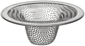 B000DZD1AS DANCO Bathroom Lavatory Mesh Strainer, Stainless Steel, 2-1/4 Inch, 1-Pack (88820) 41Nw939MhUL