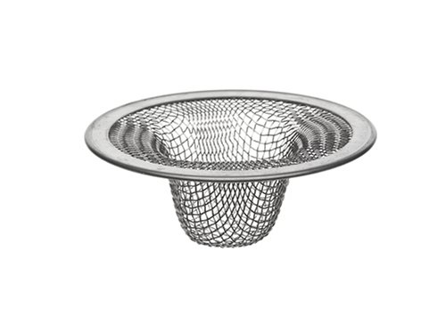 DANCO Bathroom Lavatory Mesh Strainer, Stainless Steel, 2-1/4 Inch, 1-Pack (88820)