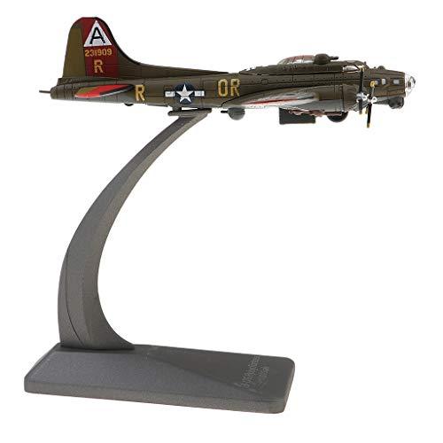 B Blesiya Juguete Modelo Avión Aeroplano Coleccionable Decoración Casera - 1/200 escala B-17 Fighter