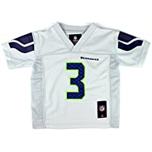 Russell Wilson #3 Seattle Seahawks NFL Toddler Alternate Jersey Gray (Toddler 2T)