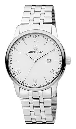 ORPHELIA Sterling Silver Stainless Steel Bracelet-OR62700