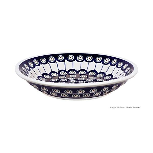 Bunzlauer keramik assiette creuse calotte/assiette creuse pour pâtes ø21.8 cm, h = 4,0 cm motif 8