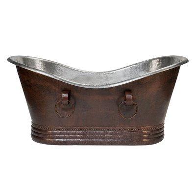 Copper Air Bathtub - 7