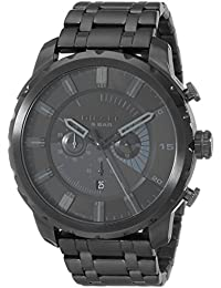 Men's DZ4349 Stronghold Black Stainless Steel Watch