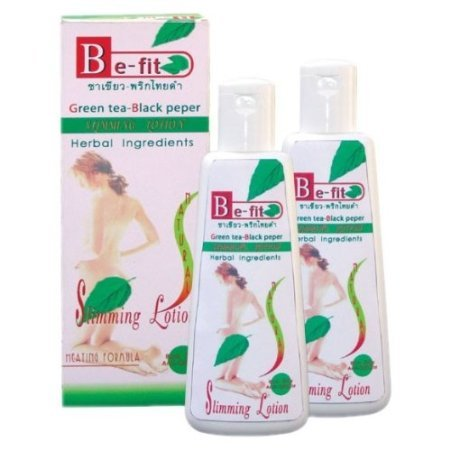 Be-fit Slimmimg / Firming Lotion, Green Tea Black Pepper, Thanyaporn Thailand.