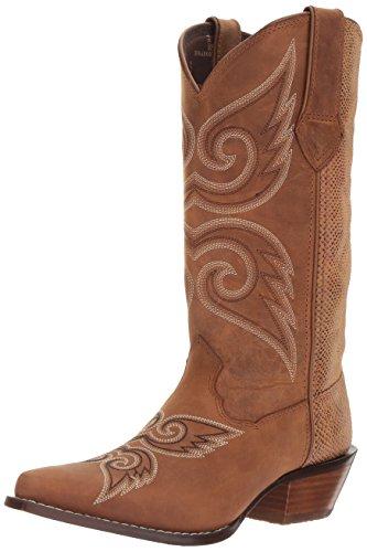 Durango Women's DRD0170 Western Boot, Tan Snake, 8.5 M US (Tan Snake)