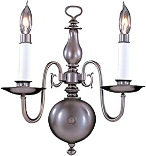 product image for Framburg 9122 PB 2-Light Jamestown Sconce, Polished Brass