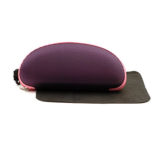 Xinmade Car Case, Driver Sunglases Case with Clip and Zipper (Purple) by XINMADE