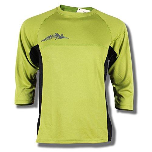Przewalski Men's MTB Mountain Bike, Cycling Jersey, Short Sleeve Biking Shirt - Loose Fit, Moisture-Wicking and Breathable (Large, (Freeride Mountain Biking)