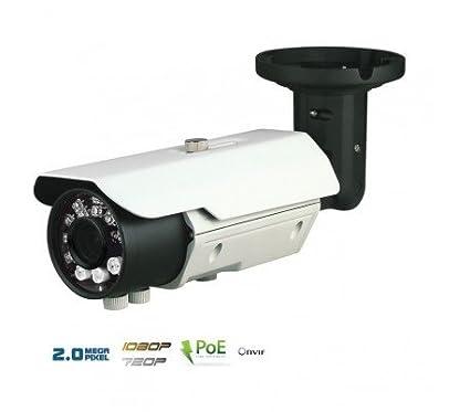 Cámaras Vigilancia IP – Cámara IP 2 MP exterior, PoE, varifocale, IR 40