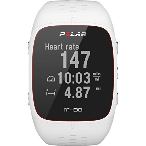 (Polar M430 HR Watch White, One Size)