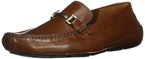 - CLARKS Men's Ashmont Brace Loafer, Cognac Leather, 115 M US