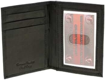 Paul & Taylor Men Or Women's Genuine Leather Slim Credit Card Holder
