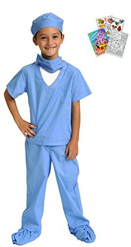 Jr. Dr. Scrubs Costume - Toddler