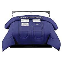 Lady Sandra Doctor Who Tardis Full/Queen Comforter by Lady Sandra