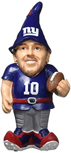 FOCO New York Giants Manning E. #10 Resin Player Gnome by FOCO