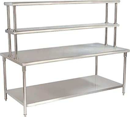 Vigneshwara Stainless Steel 4 Layers Working Table 4X2X34