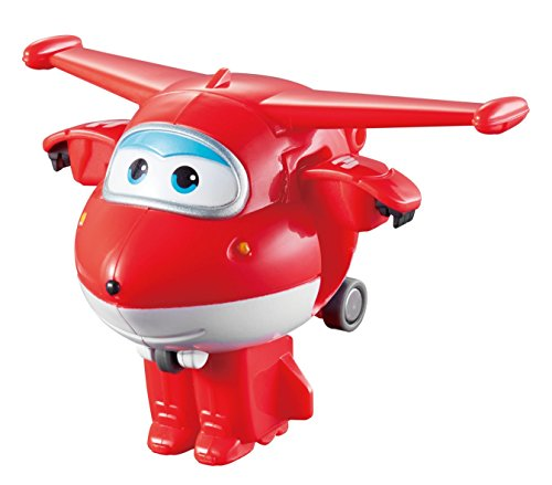 Super Wings - Robo Rig | Toy Vehicle Set |, Includes Transform-a-Bot Jett Figure | 2'' Scale by Super Wings - (Image #3)