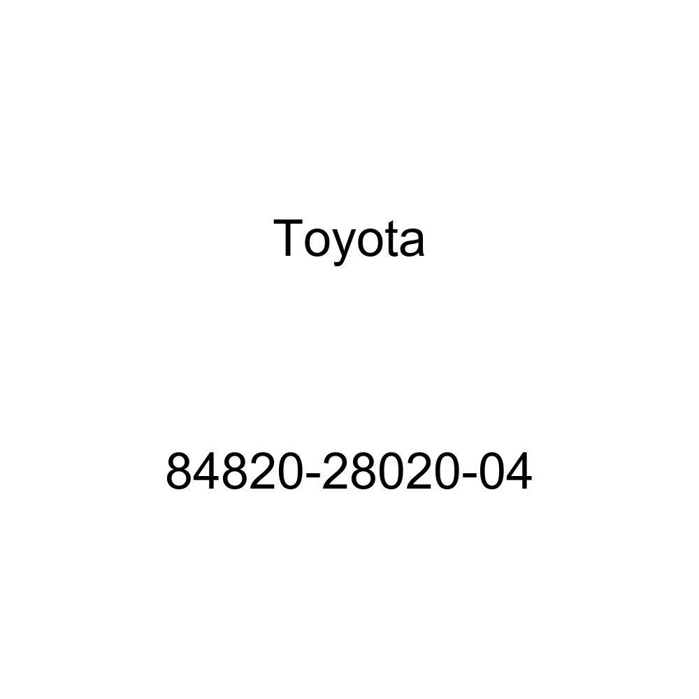 Toyota 84820-28020-04 Power Window Regulator Master Switch Assembly