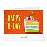 Amazon Gift Card - Print - Birthday Cake