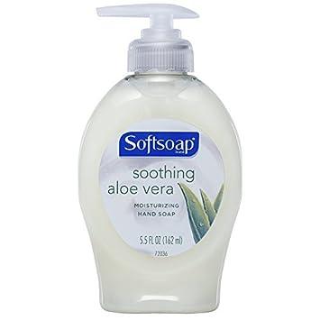Softsoap Soothing Aloe Vera Moisturizing Hand Soap, 5.5 oz