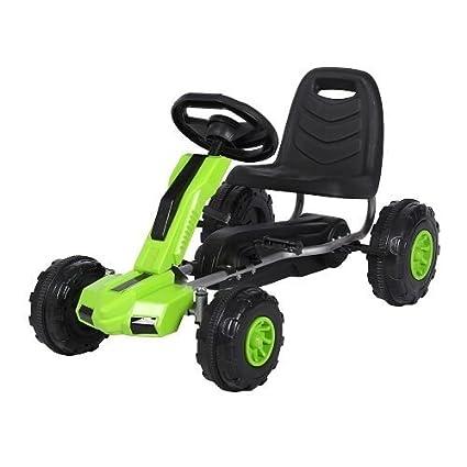 F648 Children Junior Pedal Go Karts - Green